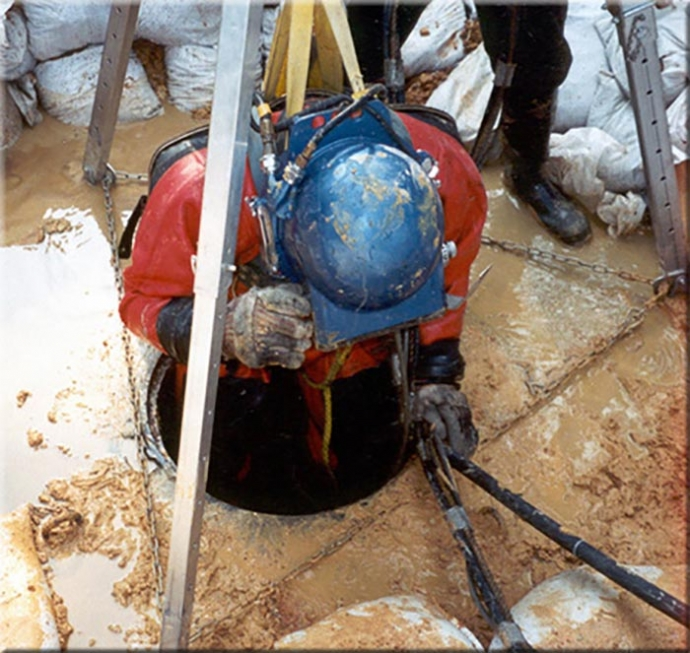 Confined Space Entry Rescue Team Mainstream Commercial